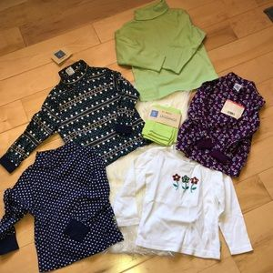 Gymboree flower collection lot of 5